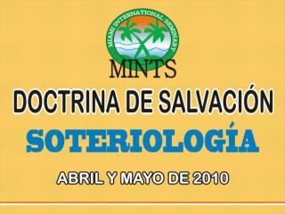 DOCTRINA DE SALVACION