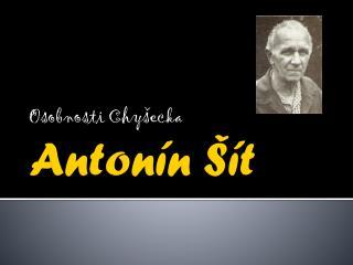 Antonín Šít