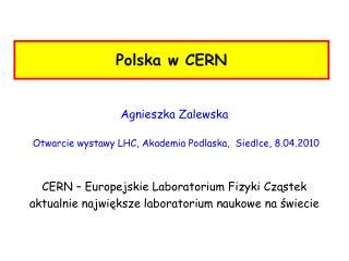 Polska w CERN