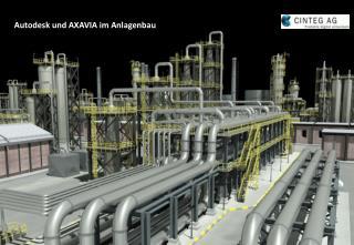 Autodesk und AXAVIA im Anlagenbau