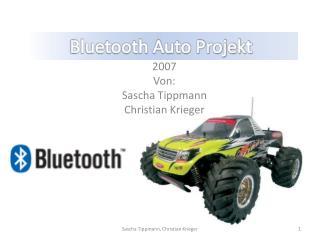 Bluetooth Auto Projekt