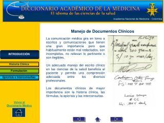 Volver al Diccionario Médico