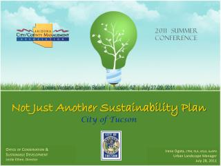 Not Just Another Sustainability Plan