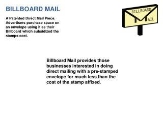 BILLBOARD MAIL