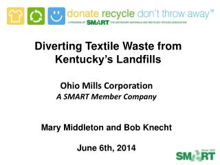 Diverting Textile Waste from Kentucky's Landfills