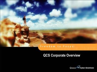 QCS Corporate Overview