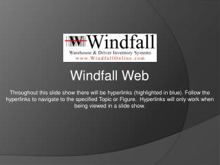 Windfall Web