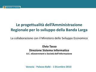 Venezia - Palazzo Balbi - 1 Dicembre 2010