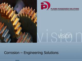 Corrosion – Engineering Solutions