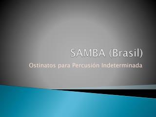 SAMBA (Brasil)