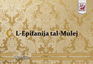 L-Epifanija tal-Mulej