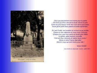 Guerres de la révolution et du premier empire (1792-1815) Guerre de Crimée (1854-1856)