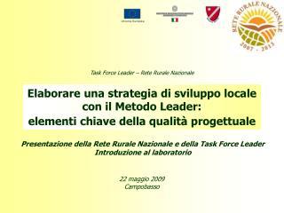 Elaborare una strategia di sviluppo locale con il Metodo Leader: