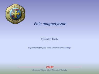 Pole magnetyczne