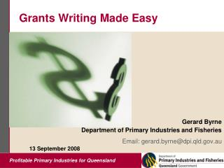 Grants Writing Made Easy