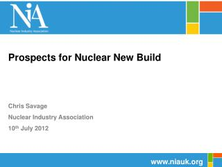 Prospects for Nuclear New Build
