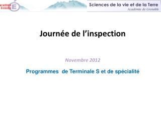 Sciences de la vie et de la Terre Académie de Grenoble
