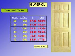 GLV-6P-CL