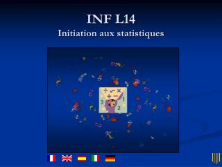 INF L14 Initiation aux statistiques