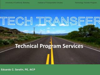 Technical Program Services