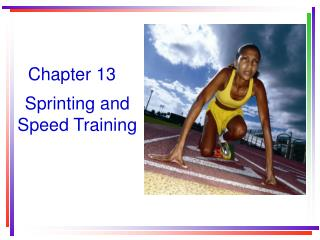 Sprinting and Speed Training