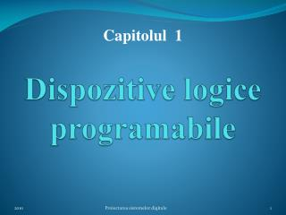 Dispozitive logice programabile