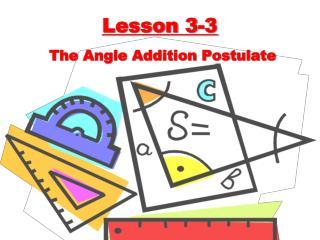 Lesson 3-3