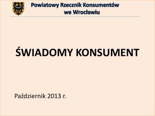 Powiatowy Rzecznik Konsumentów            we Wrocławiu