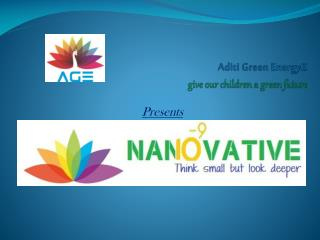 Aditi Green EnergyZ give our children a green future