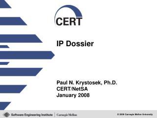 IP Dossier