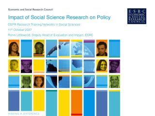 Impact of Social Science Research on Policy