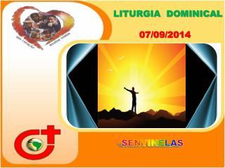 LITURGIA  DOMINICAL 07/09/2014