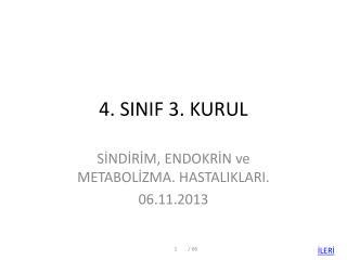 4. SINIF 3. KURUL