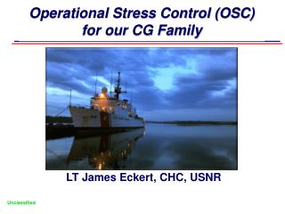 Operational Stress Control (OSC) for our CG Family