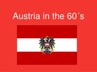 Austria in the 60´s