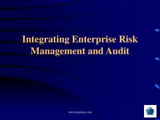Integrating Enterprise Risk Management and Audit