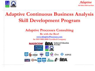 Adaptive Continuous Business Analysis Skill Development Program Adaptive  Processes  Consulting