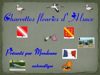 Charrettes fleuries d' Alsace