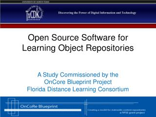 Open Source Software for  Learning Object Repositories
