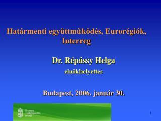 Határmenti együttműködés, Eurorégiók, Interreg