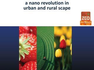 a nano revolution in  urban and rural scape