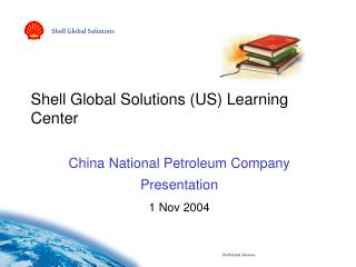 Shell Global Solutions (US) Learning Center