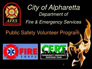 City of Alpharetta Department of Fire & Emergency Services