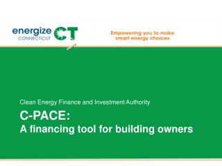 C-PACE: A financing tool for building owners