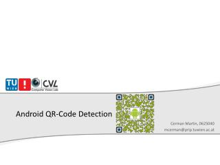 Android QR-Code Detection