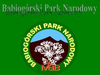 Babiog�rski Park Narodowy