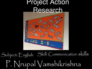 Project Action Research