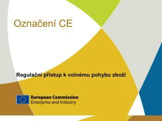 Označení  CE