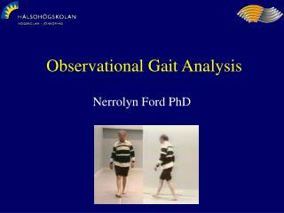 Observational Gait Analysis