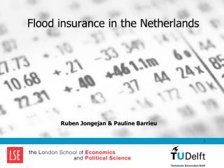 Flood insurance in the Netherlands